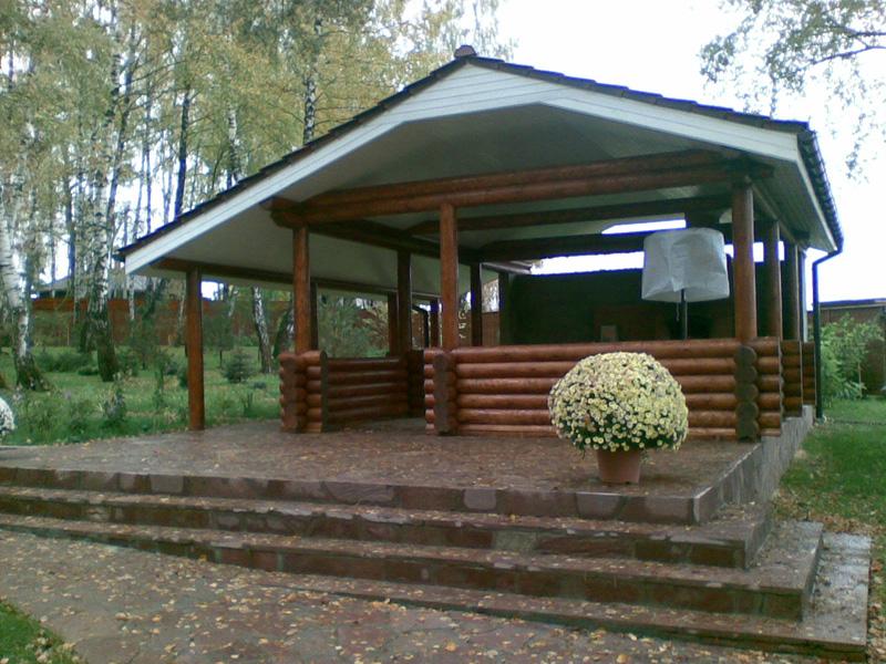 Проекты садовых беседок и барбекю гриль - барбекю signus 200